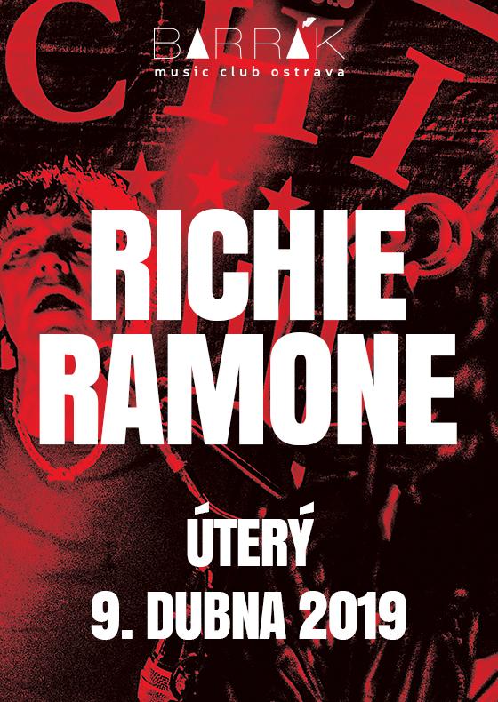 Richie Ramone na Barráku