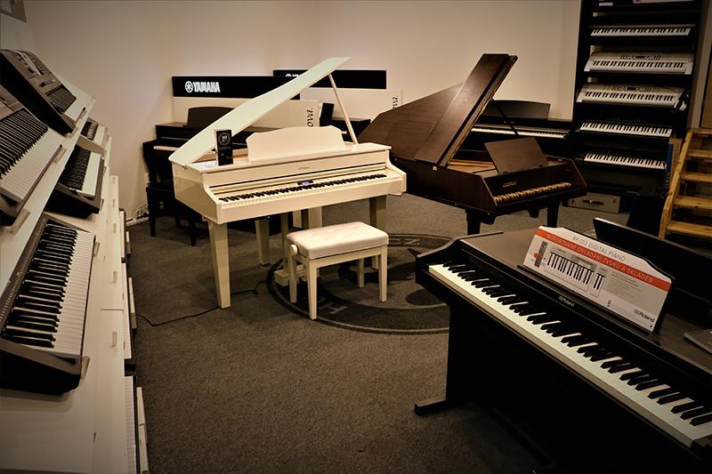 Nový showroom kláves v HS